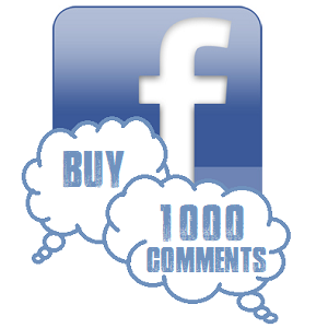 how do you buy comments on facebook
